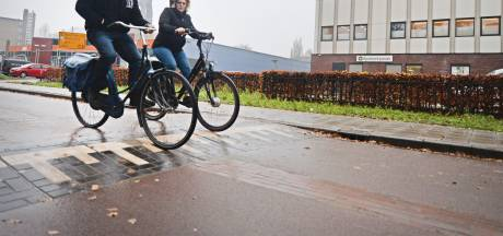 Als je niet oppast word je 'gelanceerd' in de nieuwste fietsstraat van Enschede