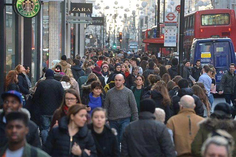 Oxford Street in Londen