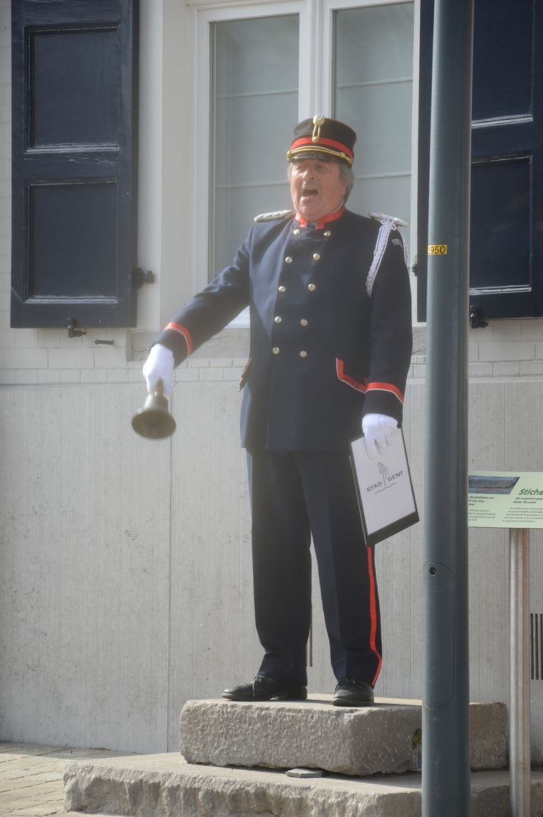 Kurt De Smet, belleman van Oudenaarde.
