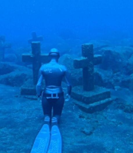 Des images fascinantes d'un cimetière sous-marin en Espagne