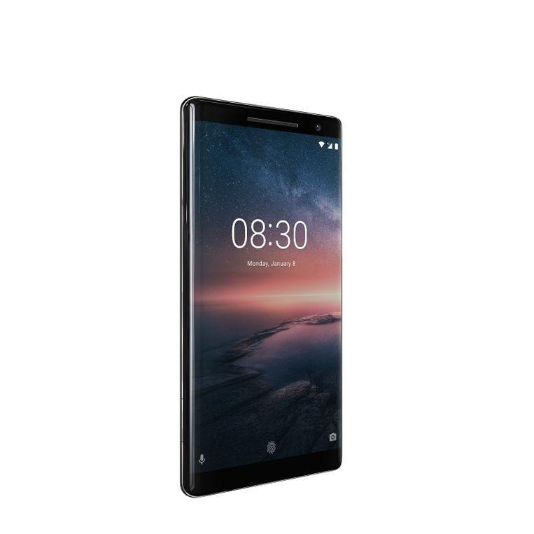 De Nokia 8 was nog niet waterproof, luxe editie Nokia 8 Sirocco wel.