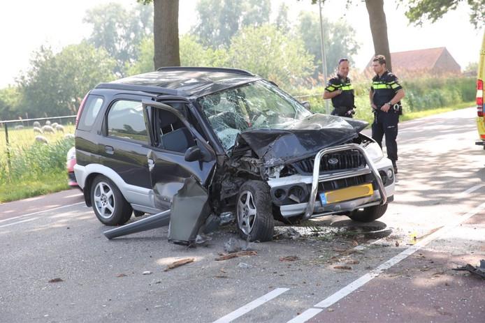 Ongeluk op Wouwbaan in Roosendaal
