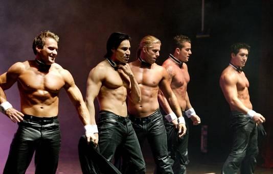 De Chippendales tijdens een eerder optreden in Nederland.