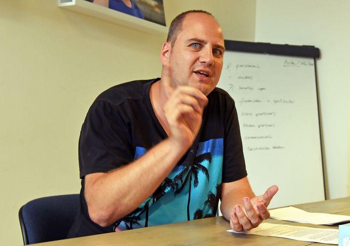 Zomerschooldirecteur Sebastiaan Vanhijfte kijkt uit naar de start van de lessen.