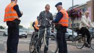 Politie controleert 132 fietsers