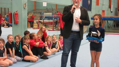 Nisrien (9) is 400ste lid van Turnkring Diest