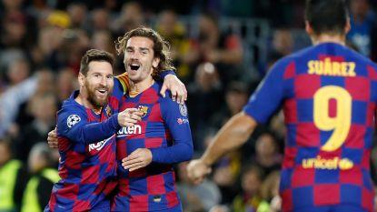 Messi luistert z'n 700ste wedstrijd voor Barcelona op met goal, twee assists, een record en groepswinst