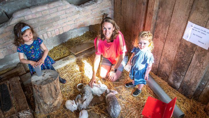 Het is stil op het 'mooiste erf van Zeeland': 'De aardappelen raken we niet kwijt en kampeerveld is bijna leeg'