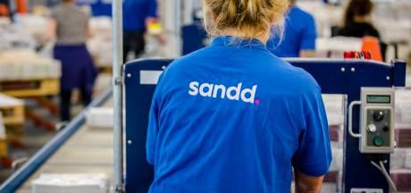 Circa 8500 mensen van postbedrijf Sandd uit Apeldoorn raken hun baan kwijt