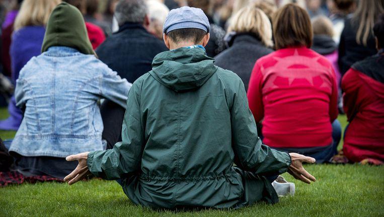 Het positieve effect van meditatie is twijfelachtig volgens psycholoog Miguel Farias. Beeld anp