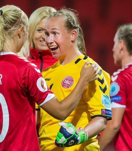 Denemarken volgt Oranje Leeuwinnen naar kwartfinale EK