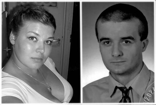 Slachtoffers Sylwia en Grzegorz.