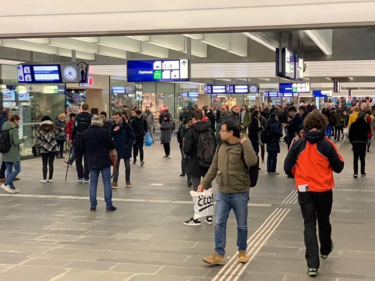 Geen treinen van en naar Eindhoven Centraal vanwege wisselstoring