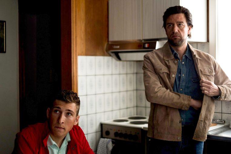 Vader en zoon Vereecke, de onzichtbare druk van de familie is ook in de koers aanwezig.