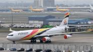 Eerste commerciële vlucht Air Belgium gaat van Amsterdam naar Paramaribo