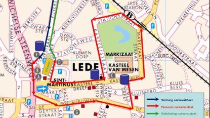 Verkeersmaatregelen tijdens carnaval op zondag 10 maart