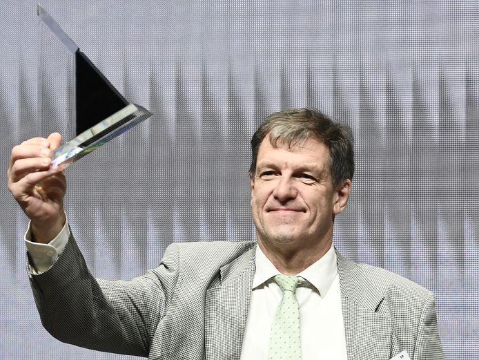Jean-Jacques Cloquet a été élu Manager de l'Année en 2018 lorsqu'il dirigeait l'aéroport de Charleroi.