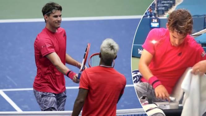 Red Bullgate op US Open: Thiem maakt zich kwaad wanneer hij drank niet zelf in beker mag gieten
