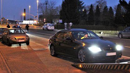Auto's in beslag genomen tijdens massa controles in Limburg