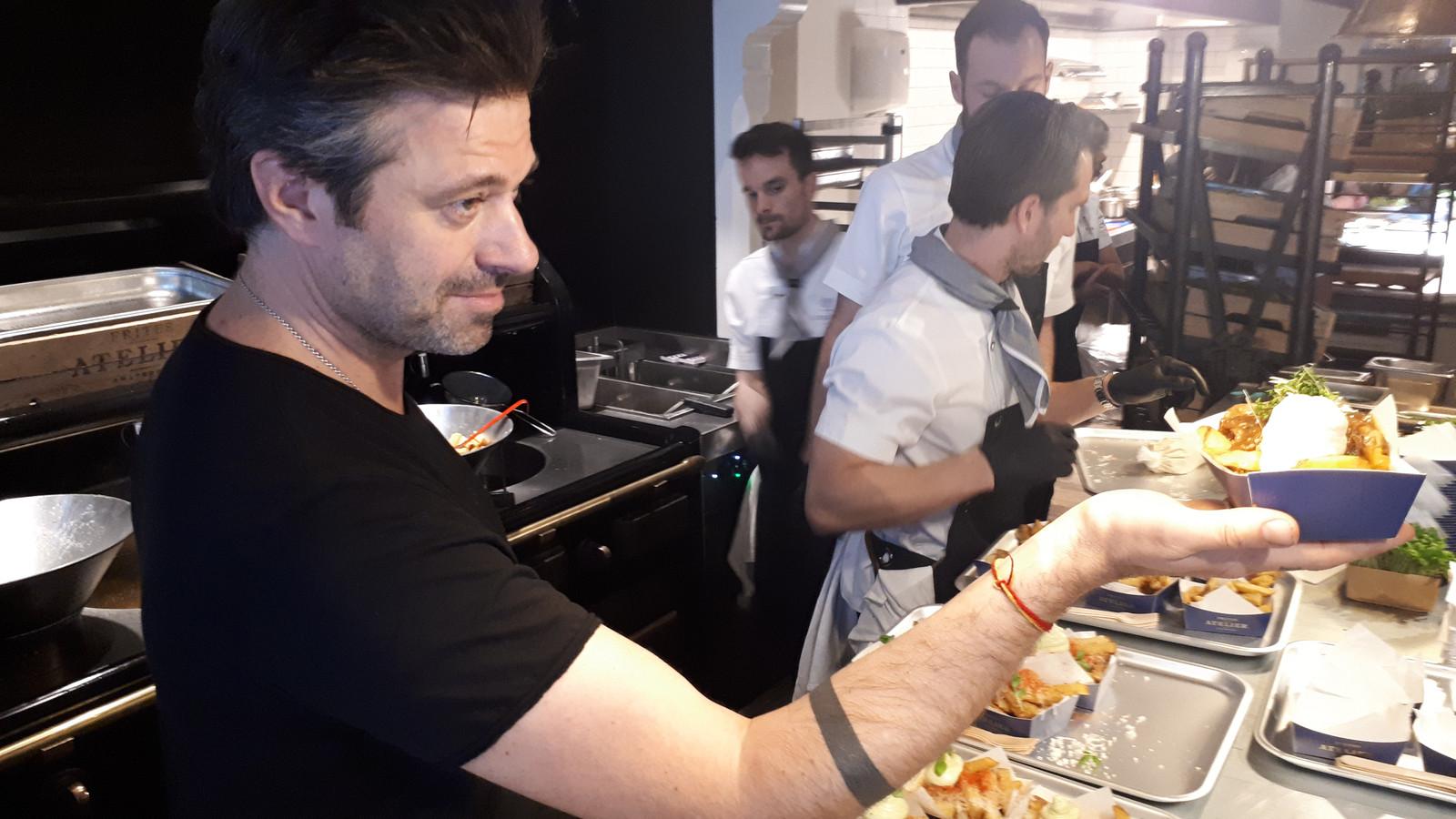 Sergio Herman opent frietrestaurant in Brussel.