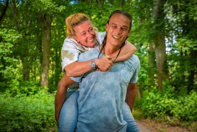 Michel Adam en Annette.