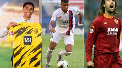 Sterren als Mbappé en Neymar, maar ook enkele verrassende namen: dit zijn de duurste voetballers per leeftijd