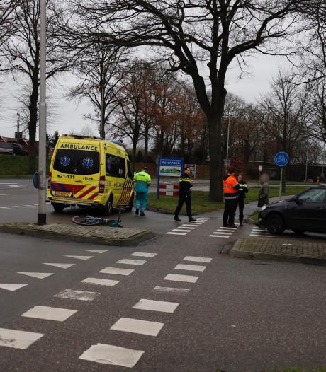 Fietser gewond bij aanrijding op de Rijksweg in Molenhoek