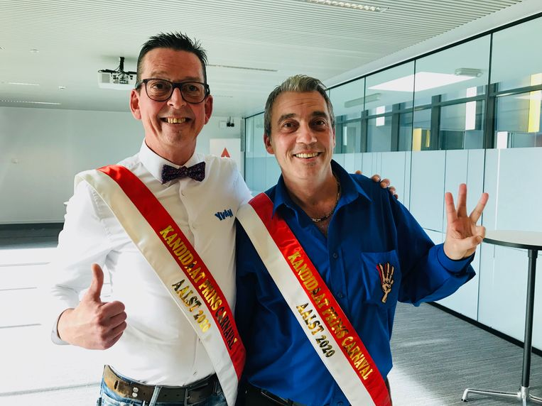 Yvan De Boitselier en Werner Kinoo.