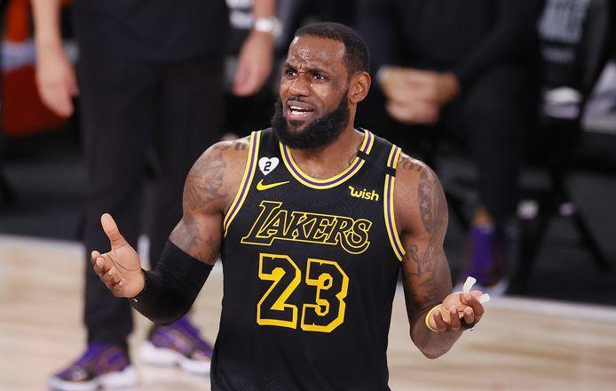 LeBron James, de vedette van LA Lakers.