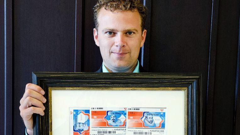 Ferdi Roet oprichter van Stichting Loterijverlies. Beeld Olaf Kraak / HH