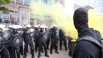 Politie moet pepperspray inzetten aan Noordstation: 350-tal gele hesjes opgepakt in Brussel