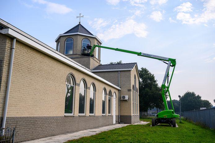 De Armeens Apostolische Kerk ziet er volgens het kerkbestuur weer als nieuw uit.