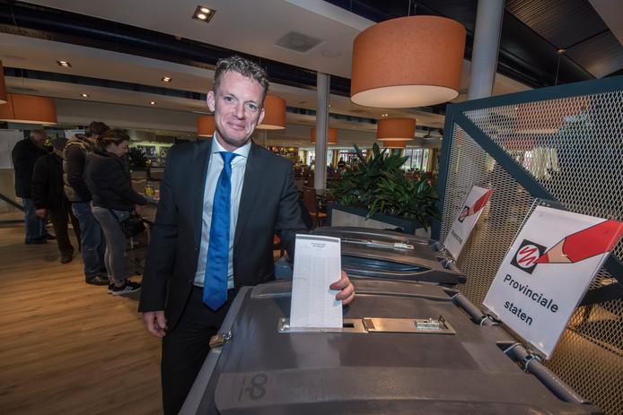 Johan Almekinders, FvD-lijsttrekker in Overijssel.