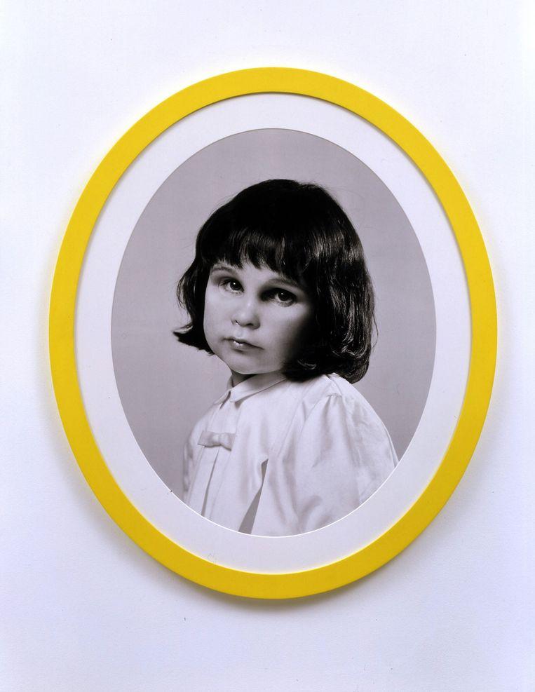 Gillian Wearing, Me at Three Years Old. Beeld
