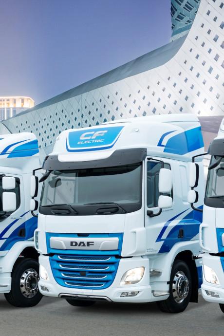 DAF bereikt nieuw record marktaandeel: 17,1 procent