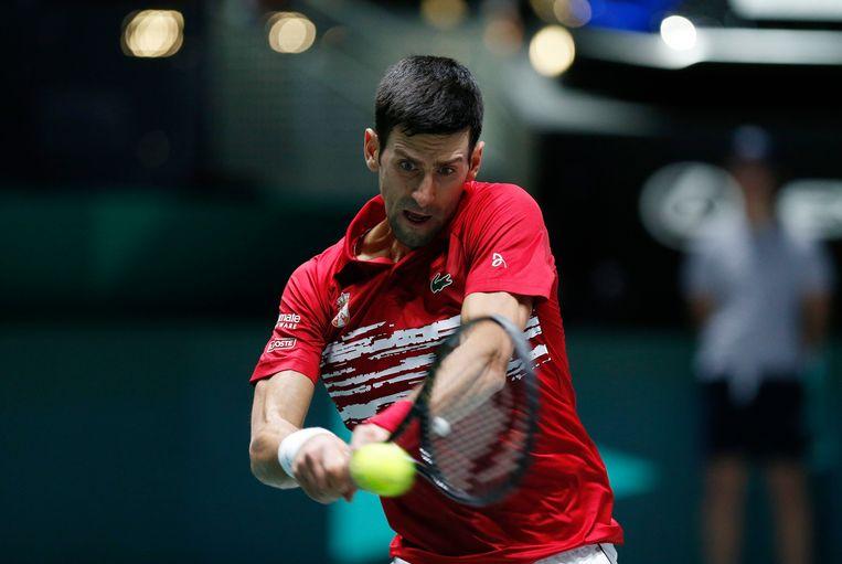 Novak Djokovic sprak zich uit over het fortait.