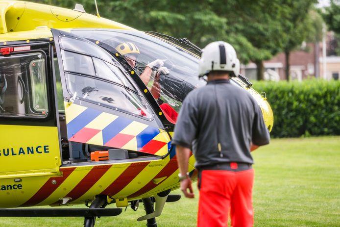 De piloot vliegt niet weg zolang de wesp in de cockpit zit.