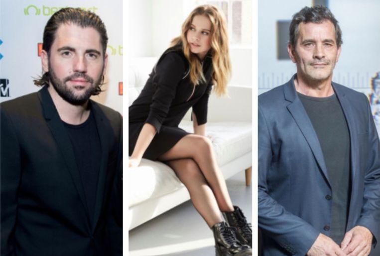 Dimitri Vegas, Laura Tesoro en Koen De Bouw verlenen hun stem aan 'Spider-Man: Een Nieuw Universum'.