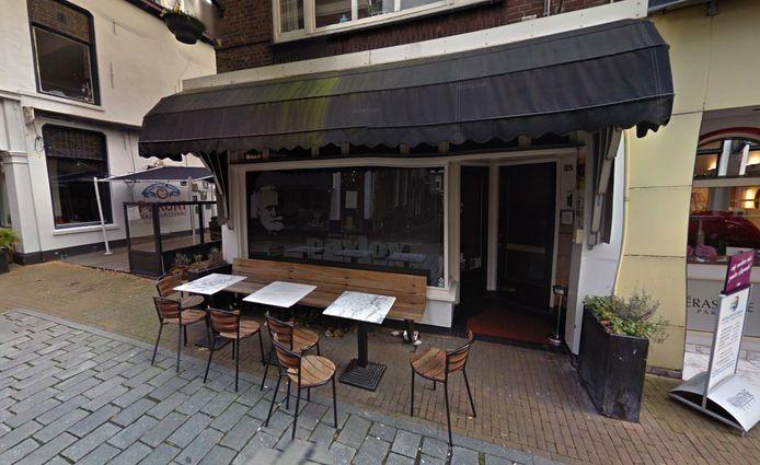 Café Pavlov op de Langendijk, hier op een foto uit 2016, gaat niet meer open voor publiek.