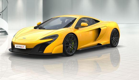 De McLaren 675LT.