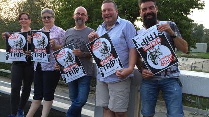 Achtste Aalst Stript in Lyceum: veertig striptekenaars en cartoonisten tekenen present