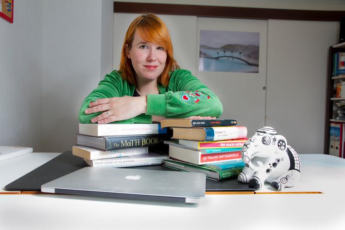 Wiskundige en hoogleraar wetenschapscommunicatie Ionica Smeets.