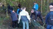Personeel Saint-Gobain ruimt Schapenhagen op
