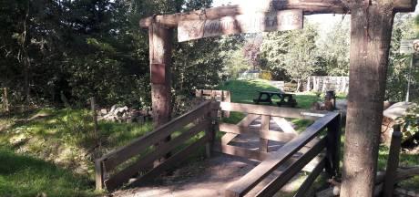 Kamper natuurspeelplaats voorlopig op slot