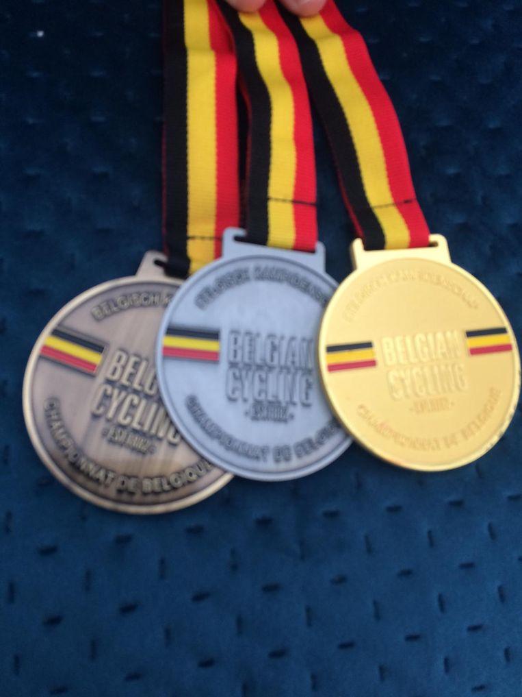 De medailles.