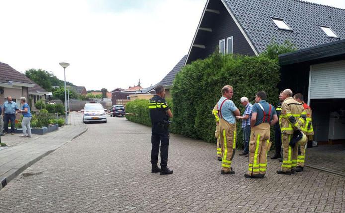 Afgelopen week rukte de brandweer van Gendringen uit naar Dinxperlo, voor een gaslek aan de Marijkestraat.