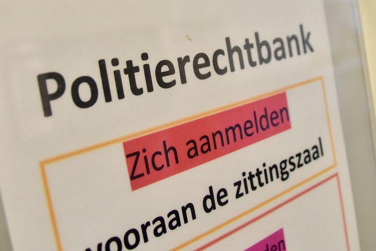 Politierechtbank in Kortrijk.