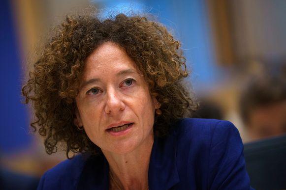 Yasmine Kherbache is kandidaat om rechter te worden bij het Grondwettelijk Hof.