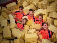 Scholten met Oranje naar EK-finale teamgym