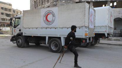 Rusland belooft dat het rebellen uit Oost-Ghouta laat vertrekken